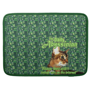 Daily Abyssinian MacBook Pro Sleeve
