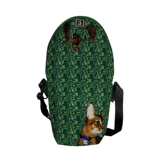 Daily Abyssinian Mini Messenger Bag