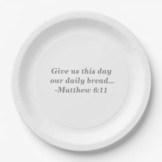 Daily Bread Paper Plates