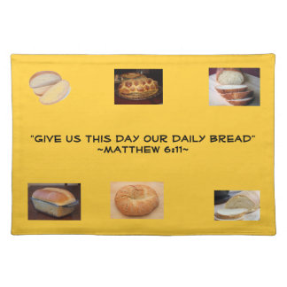Daily Bread Place Mat Cloth Placemat