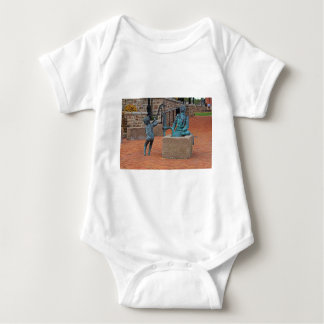 Daily Chores by Michael Tizzano Baby Bodysuit