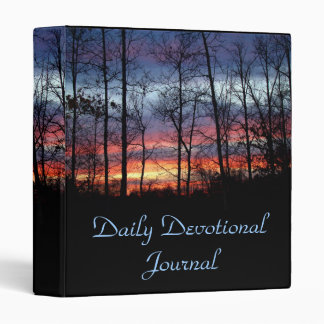Daily Devotional Journal 3 Ring Binders