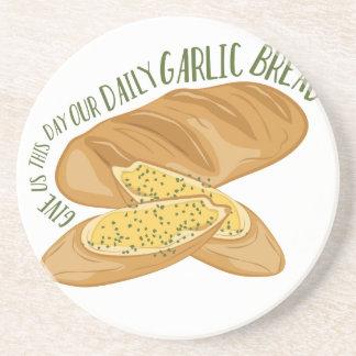 Daily Garlic Bread Coaster