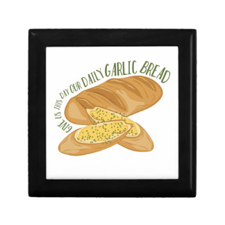 Daily Garlic Bread Jewelry Boxes