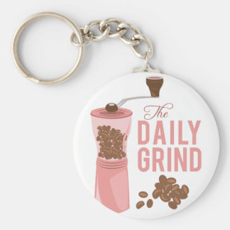 Daily Grind Keychain