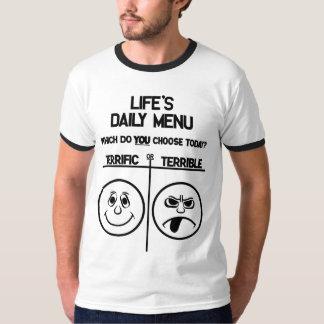 Daily Menu T-Shirt