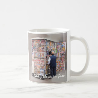 Daily News in Peru - Customizable Text Coffee Mug
