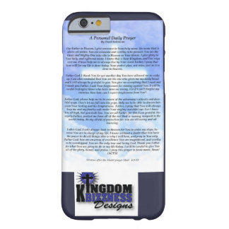 Daily prayer phone case