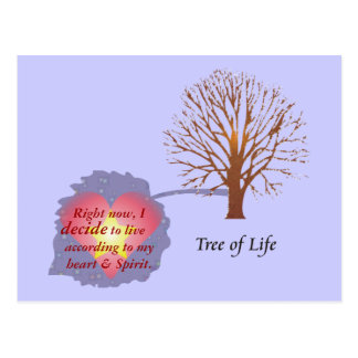 Daily Reminder - Tree of Life Postcard