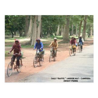 Daily Traffic * Angkor Wat - Cambodia... Postcard