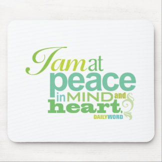 """DAILY WORD® """"Inner Peace"""" Mousepad"""