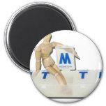 DailyMedicalCaretaker081311 Fridge Magnet