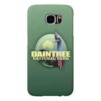 Daintree NP (Cassowary) WT Samsung Galaxy S6 Cases