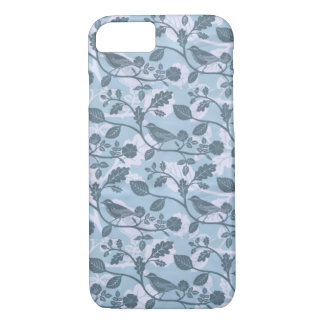 Dainty Blue Birds Floral iPhone 7 case