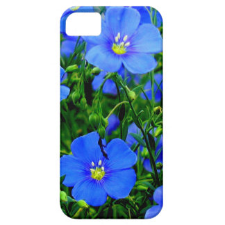 Dainty Blue Flax iPhone 5/5s Case iPhone 5 Cases