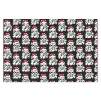Dainty Christmas Skulls tissue paper