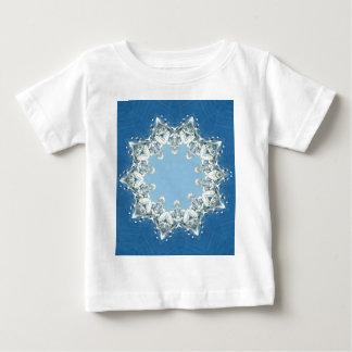 dainty Circular Shades Of Blue Baby T-Shirt