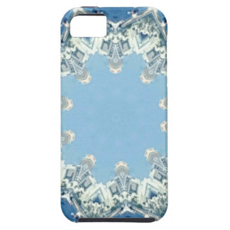 dainty Circular Shades Of Blue iPhone 5 Cover