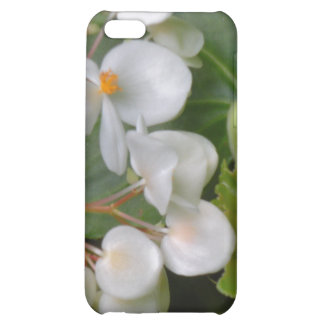 Dainty Cluster of White Flowers Case For iPhone 5C