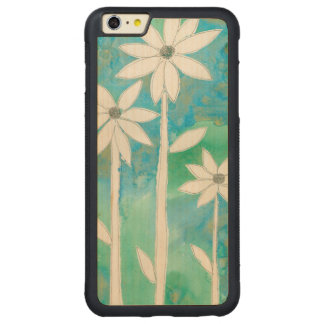 Dainty Daisies II Carved® Maple iPhone 6 Plus Bumper Case