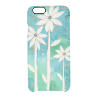 Dainty Daisies II Clear iPhone 6/6S Case