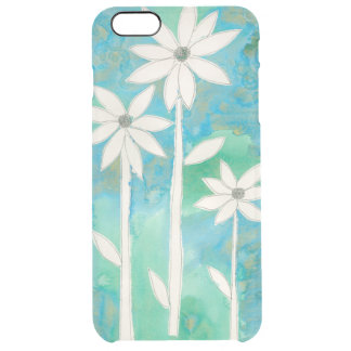 Dainty Daisies II Clear iPhone 6 Plus Case