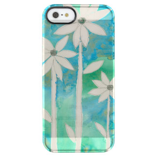 Dainty Daisies II Clear iPhone SE/5/5s Case