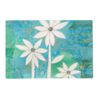 Dainty Daisies II Laminated Place Mat