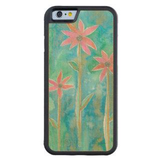 Dainty Daisies III Maple iPhone 6 Bumper Case