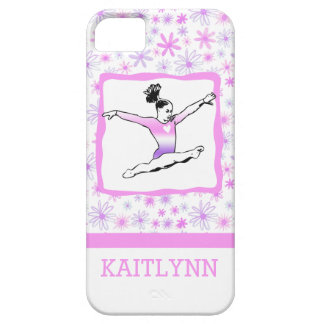 Dainty Floral Gymnastics iPhone 5/5s Case