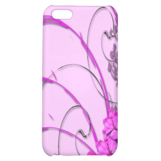 Dainty florals cover for iPhone 5C