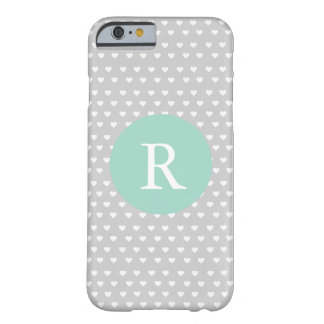 Dainty Hearts Monogram Barely There iPhone 6 Case