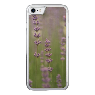 Dainty Lavender Carved iPhone 7 Case