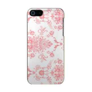 Dainty Pink Damask Design Incipio Feather® Shine iPhone 5 Case