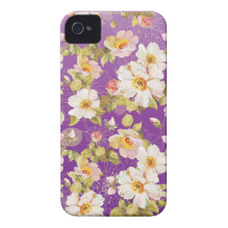 Dainty Shrub Roses iPhone 4 Case-Mate Case