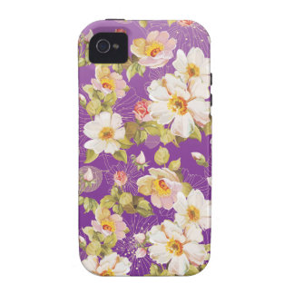 Dainty Shrub Roses iPhone 4 Case