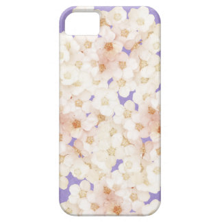 dainty  white flowers iPhone 5 cases