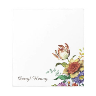 Dainty Wild Flowers of Spring Notepads