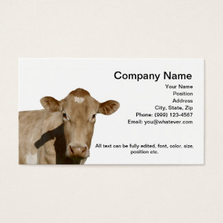 Dairy Cow Business Card