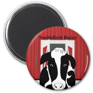 Dairy Cow Farm Barn Custom Magnet