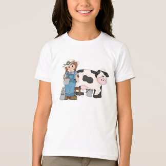Dairy Cow Girl T-shirt