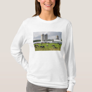 Dairy cows and farm near Taylor County 2 T-Shirt