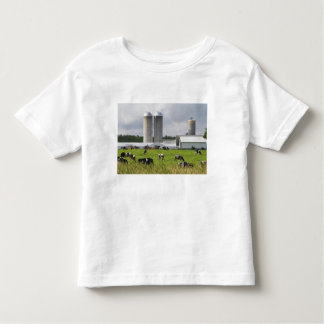 Dairy cows and farm near Taylor County 2 Toddler T-shirt