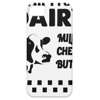 Dairy farm fresh, milk cheese butter case for the iPhone 5