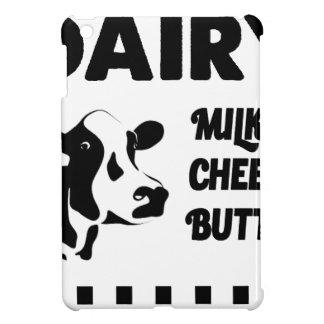 Dairy farm fresh, milk cheese butter iPad mini covers