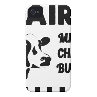 Dairy farm fresh, milk cheese butter iPhone 4 Case-Mate cases