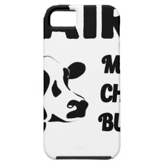 Dairy farm fresh, milk cheese butter iPhone 5 cover