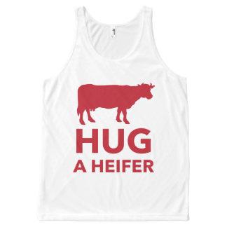 Dairy Farm Hug a Heifer Funny