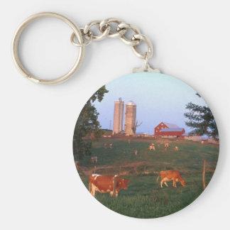 Dairy Farm Key Chain