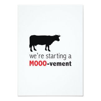 Dairy Farm or Cattle Ranch Event Funny Cow Card